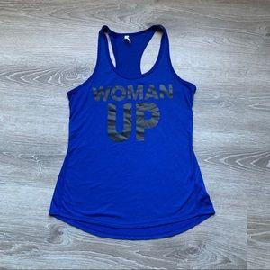 "Nike ""Woman Up"" tank top"